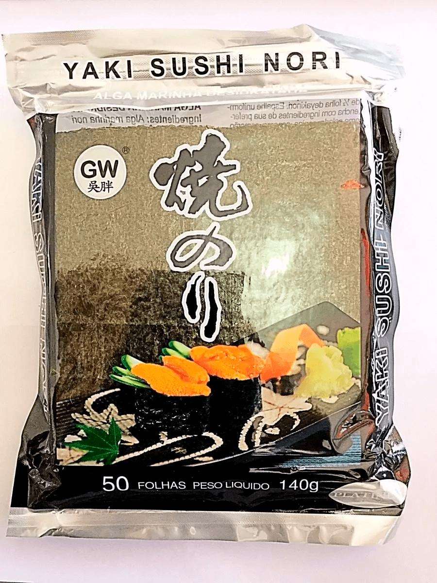 NORI - SUSHI LAVER - YAKINORI - C/  50 FLS