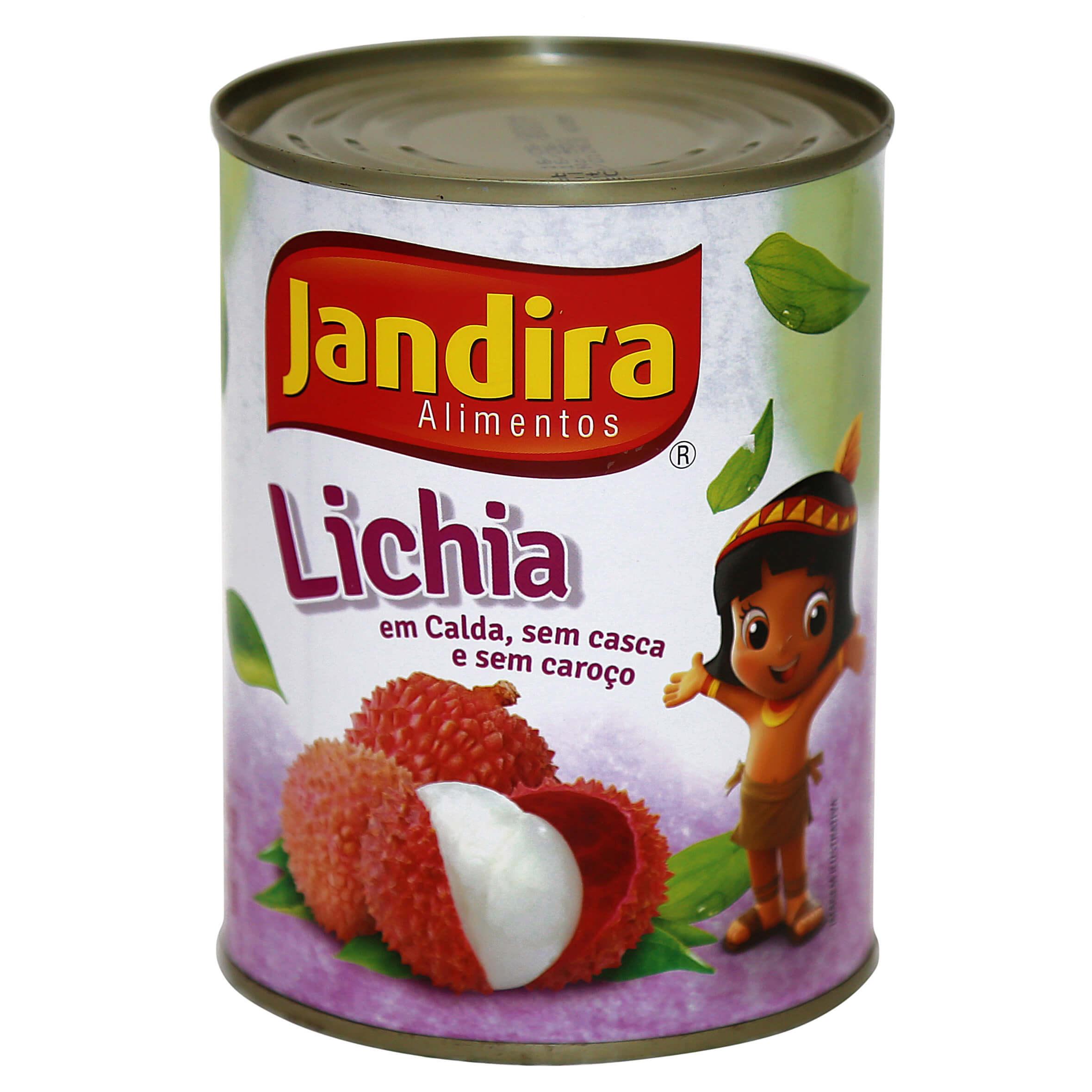 LICHIA EM CONSERVA JANDIRA - 567 GR