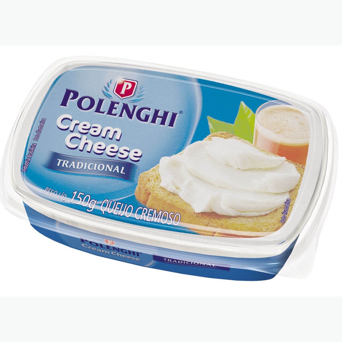 CREAM CHESE POLENGHI CX C/ 4X1,5 KG