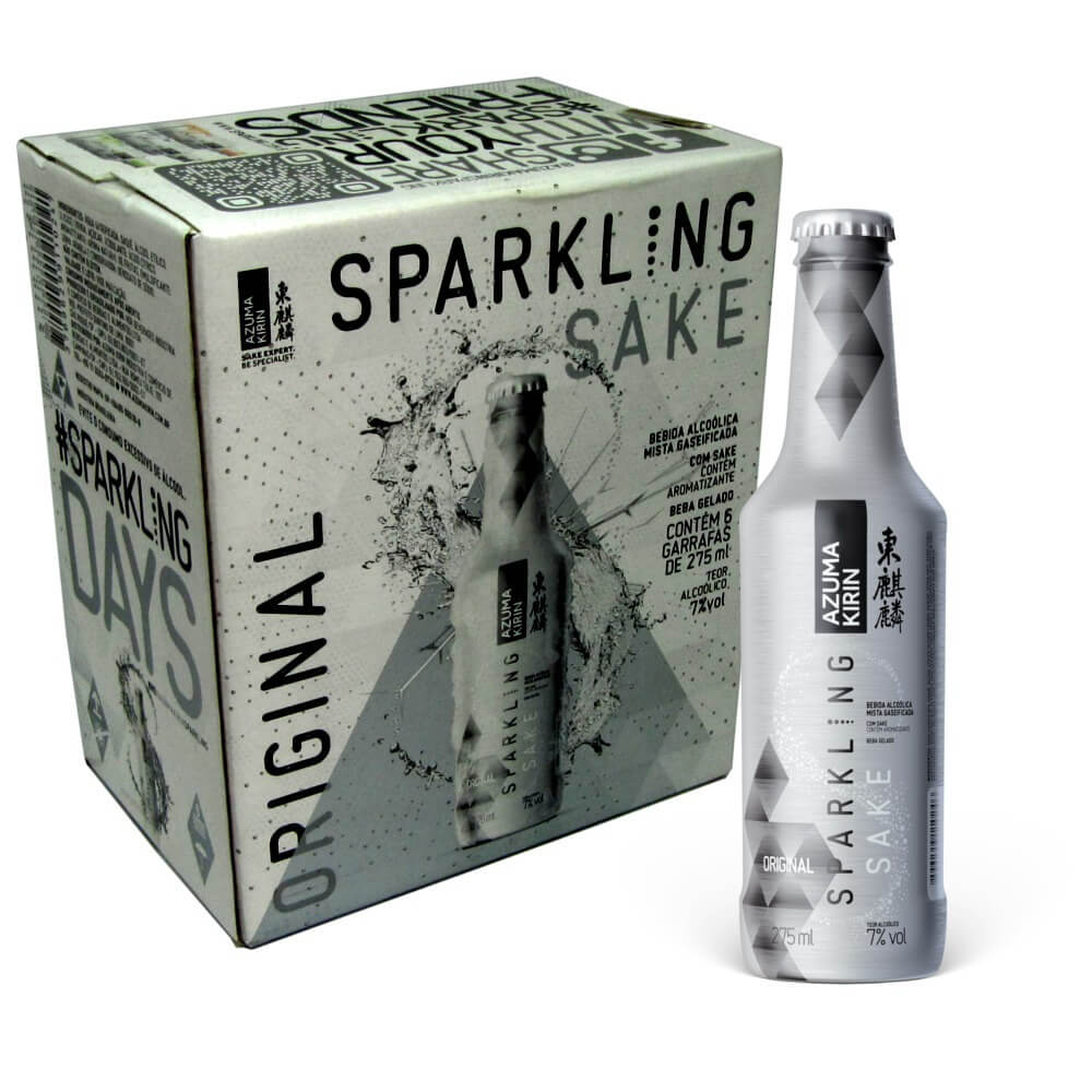 SPARKLING ORIGINAL - 275 ML CX/6 UNIDADES